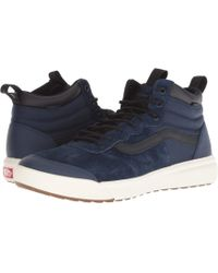 Vans - Ultrarange Hi Mte (bress Blues/black) Men's Skate Shoes - Lyst