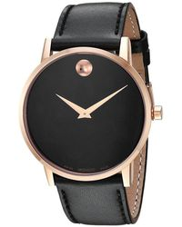 Movado - Core Museum Classic - 0607272 (rose Pvd) Watches - Lyst