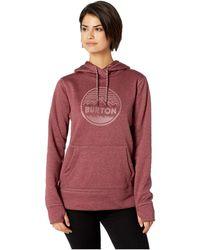 Burton - Women's Oak Pullover (port Royal Heather) Women's T Shirt - Lyst