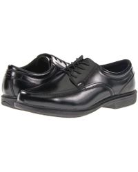 Nunn Bush - Bourbon Street Moc Toe Oxford With Kore Slip Resistant Walking Comfort Technology (cognac) Men's Lace Up Moc Toe Shoes - Lyst