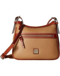 Dooney & Bourke - Pebble Piper (caramel/tan Trim) Handbags - Lyst