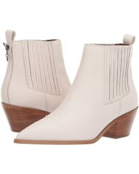 350cd7d885b COACH - Melody Leather Western Booties - Lyst