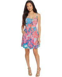 Lilly Pulitzer - Christine Dress (multi Sea Salt And Sun) Women's Dress - Lyst
