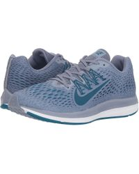 Nike - Air Zoom Winflo 5 (wolf Grey/anthracite/pure Platinum) Men's Running Shoes - Lyst