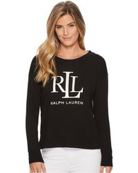 Lauren by Ralph Lauren - Lrl French Terry Sweatshirt - Lyst