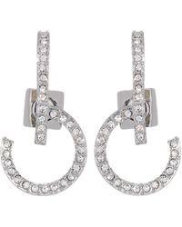 Vince Camuto - Lobe Hoop Earrings (silver) Earring - Lyst