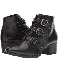 Paul Green - Soho Boot (black Leather) Women's Boots - Lyst