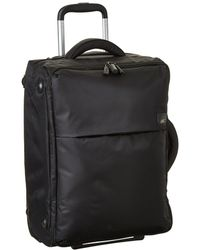 Lipault - 0% Pliable 22 Upright (black) Carry On Luggage - Lyst
