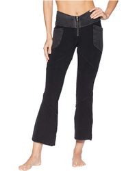 Free People - Girlfriend Crop Boot (black) Women's Clothing - Lyst
