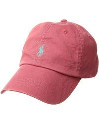 Polo Ralph Lauren - Cotton Chino Classic Sport Cap (perfect Grey) Caps -  Lyst 2078de486e26
