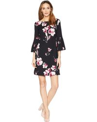 Lauren by Ralph Lauren - B845-grace Bay Floral Dress (black/pink/multi) Women's Dress - Lyst