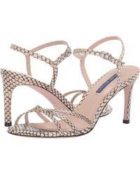 20053fde22f Stuart Weitzman - Starla 80 (silver Metallic Nappa) Women s Shoes - Lyst