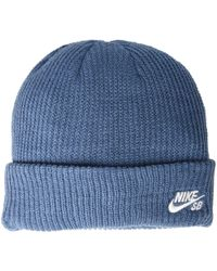 separation shoes 2e57a 03806 Nike - Fisherman Beanie (thunderstorm white) Beanies - Lyst