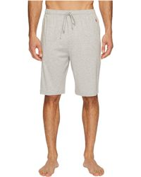 Polo Ralph Lauren - Supreme Comfort Knit Sleep Shorts (andover Heather) Men's Pajama - Lyst