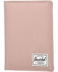 Herschel Supply Co. - Raynor Passport Holder Rfid Wallet, - Lyst