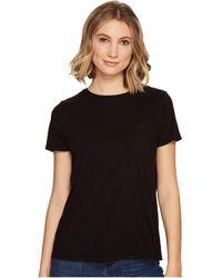 Richer Poorer - Crew Pocket Tee (plum) Women's T Shirt - Lyst
