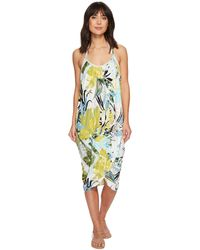 Green Dragon - Tropicaley Genevieve Wrap Dress - Lyst