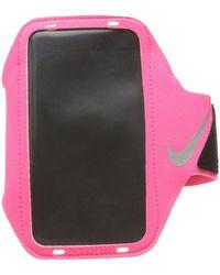 Nike - Lean Arm Band (max Orange/black/silver) Athletic Sports Equipment - Lyst