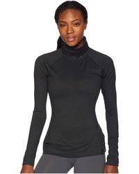 Spyder - Echo Turtleneck Top (white/white) Women's Long Sleeve Pullover - Lyst