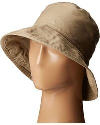 Hat Attack - Washed Cotton Crusher (khaki) Caps - Lyst