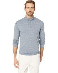 8408468ed9a7 Vintage 1946 - Space Dyed Stripe 1 4 Zip (black) Men s Clothing -