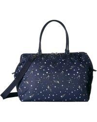 475aac71f Lipault Lipault Plume Elegance Mini Handle Bag in Blue - Lyst