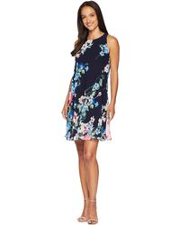 Lauren by Ralph Lauren - B541 Catamaran Floral Geminah Sleeveless Day Dress - Lyst