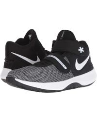 db6be5f8894fb Nike - Air Precision Ii Flyease (black white volt) Men s Basketball Shoes
