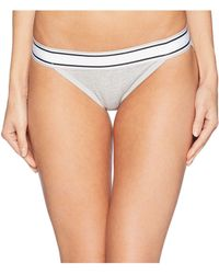 Jockey - Retro Stripe String Bikini (grey Heather) Women's Underwear - Lyst
