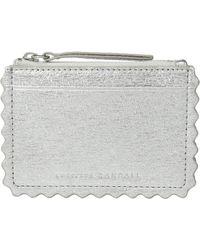 Loeffler Randall - Nina Card Wallet (silver) Wallet Handbags - Lyst