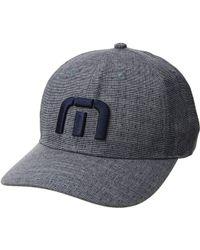 Travis Mathew - Trefoil (heather Blue Nights) Baseball Caps - Lyst