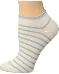 Falke - Nautical Shimmer Sneaker Sock (dark Navy) Women's Crew Cut Socks Shoes - Lyst