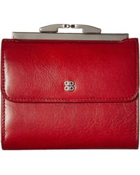 Bosca - Old Leather 4 French Purse (brick Red) Handbags - Lyst