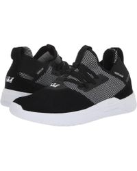 13a25509a7a9 Lyst - Supra Mens Titanium Low Top Lace Up Skateboarding Shoes in ...