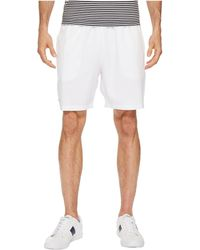 Lacoste - Stretch Taffeta Shorts (navy Blue) Men's Shorts - Lyst