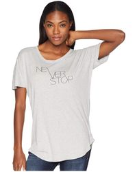 The North Face - Graphic Short Sleeve Tee (tnf White) Women's T Shirt - Lyst