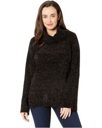 Lucky Brand - Chenille Cowl Neck Sweater (lucky Black) Women's Sweater - Lyst