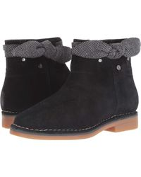 Hush Puppies - Catelyn Bow Boot (navy Suede) Women's Dress Pull-on Boots - Lyst