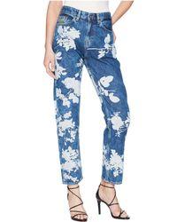 Vivienne Westwood - Skytte Jeans In Absence Of Rose Printe - Lyst