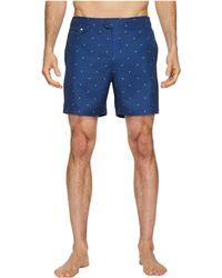 Original Penguin | Polka Dot Lemon Fixed Volley Stretch Swim Shorts | Lyst