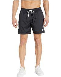 fe77564ca8 Nike Flow Camo Woven Short in Gray for Men - Lyst