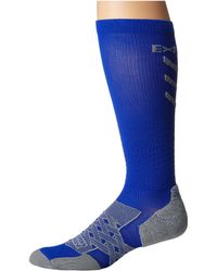 Thorlo - Experia Energy Over The Calf Single Pair (royal) Crew Cut Socks Shoes - Lyst