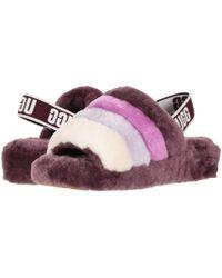 UGG - Fluff Yeah Slide (pink Dawn) Women's Slippers - Lyst