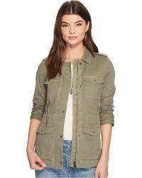 Lucky Brand | Girlfriend Utility Jacket | Lyst