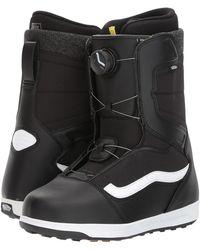 Vans - Encore (black/white) Men's Snow Shoes - Lyst