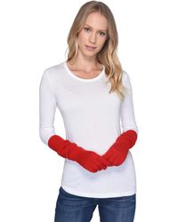 UGG - Luxe Knit Long Gloves (bright Pink) Extreme Cold Weather Gloves - Lyst