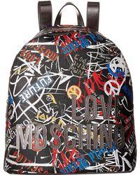 Love Moschino - Graffiti Print Backpack - Lyst