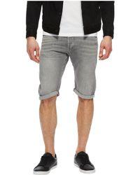 G-Star RAW - Arc 3d 1/2 Shorts In Racha Grey Denim (racha Grey Denim) Men's Shorts - Lyst