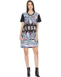 Versus - T-shirt Donna (black/stampa) Women's T Shirt - Lyst