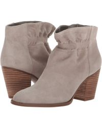 e89bcba69541 Jessica Simpson - Yvette (Foggy Morning Lux Kid Suede) Women s Dress Boots  - Lyst